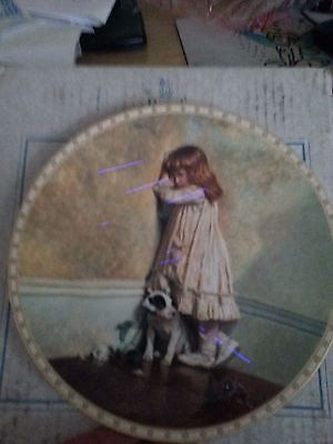 Royal Doulton Plate a Victorian Childhood The Original Disgrace With COA