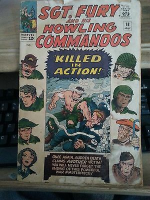 Sgt Fury #18 Marvel And His Howling Commandos