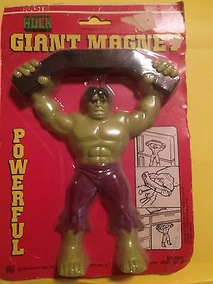 The Incredible Hulk Giant Magnet 1980 by nasta