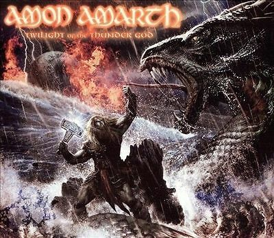 Twilight of the Thunder God by Amon Amarth (CD, Sep-2008, 2 Discs, Metal Blade)