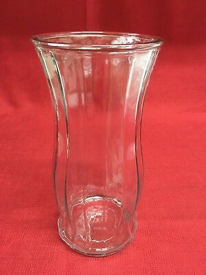 Vintage Eo Brody Co 9 Ribbed Glass Vase 1397 Picclick