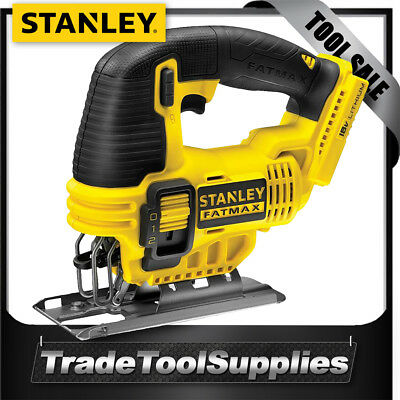 Stanley fatmax 18v cordless jigsaw genuine fmc650b xe multi blade stanley jigsaw cordless 55mm 18v li ion fatmax fmc650b xe bare tool greentooth Image collections