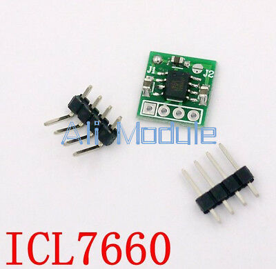 ICL7660 Switched Capacitor Positive to Negative Voltage Converter Module UK