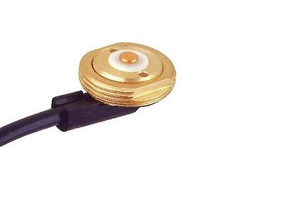 "Laird Technologies - 3/4"" Brass Mount + RG58/U Solid Center Cable - NO CONNECTOR"