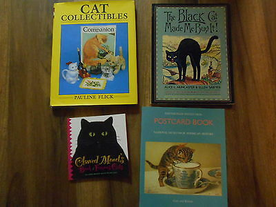 Cat Books  4  Collectibles , Postcards, Famous Cats And  Storybook