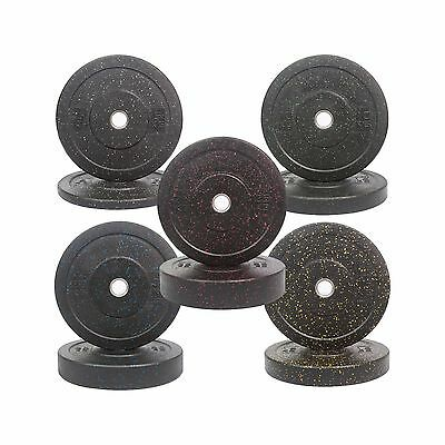 Integrated Bumper Plates, Black with color dots, Cheapest Postage