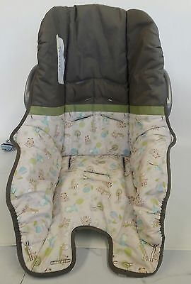 Evenflo Nurture Baby Infant Car Seat Cover Cushion Multi-Color m