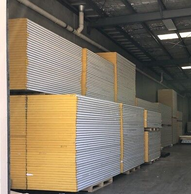 Insulated Z Lock Coolroom Panel 1150mm Width $23 M2 ( AU Standard )