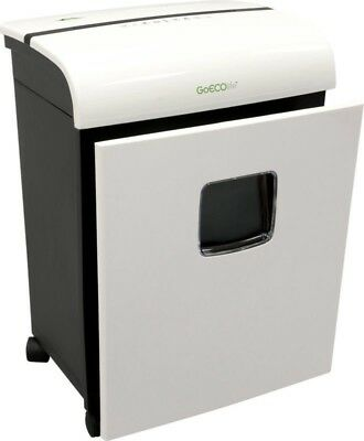 GoECOlife GMW121P Microcut Shredder - 12 Sheets - Ultra Quiet, White