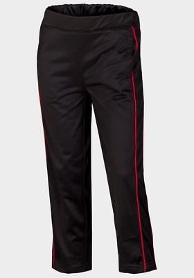 Boys' Track Pants with Contrast Piping Detail - Dark Grey
