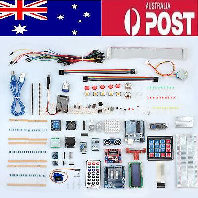 Professional UNO Starter R3 Kit for Arduino LCD Compass Gyro DIY AU Shipping