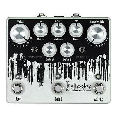 NEW Earthquaker Devices Palisades Ultimate Overdrive @ real Earthquaker DEALER