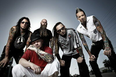 "025 FIVE FINGER DEATH PUNCH - Ivan Moody Metal Rock Band 21""x14"" Poster"