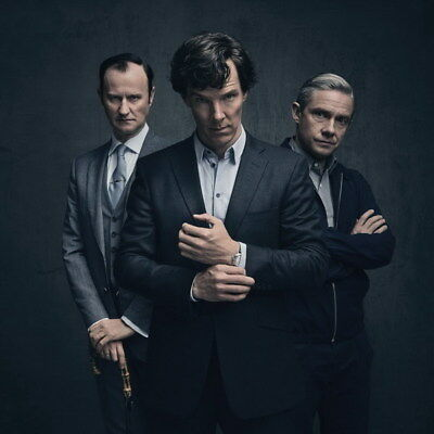 "022 Sherlock so4 - BBC Detective Season 4 Hot TV Show 14""x14"" Poster"