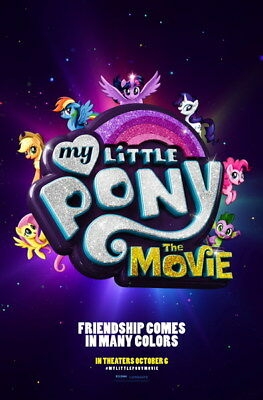"003 My Little Pony The Movie - Adventure Comedy 2017 USA Movie 14""x21"" Poster"
