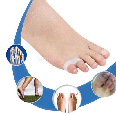 Newest 2pcs Little/Pinky Toe Valgus Corrector Gel Separators Bunion Straightener