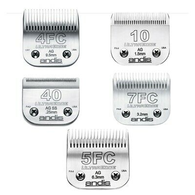 Andis Replacement Ultra Edge Blades for Pet Clippers - 5 Blades to Choose From