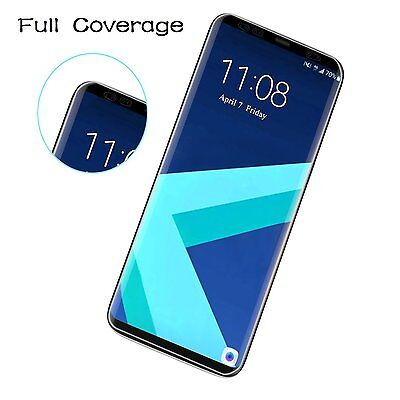 For Samsung Galaxy S8 / S8 Plus Full Coverage TPU Clear Screen Protector Film