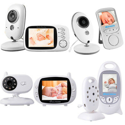 Wireless Digital Video Baby Monitor 2'' Color Lcd Audio Talk Night Vision