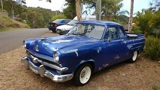 Ford  Mainline V8 Ute 1953, Rat Rod