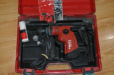 Hilti TE 6-S Corded Rotary Hammer Drill + Case / Good Condition