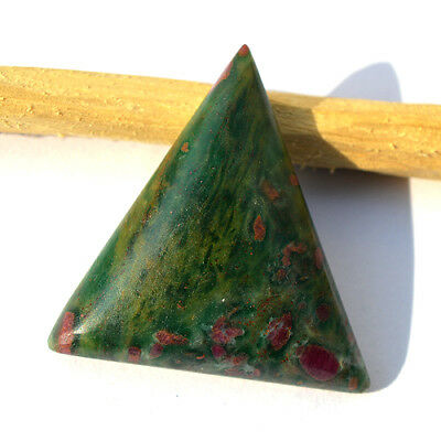 Natural Ruby in Fuchsite Cabochon, Designer Loose Cabochon 42x33x8.6 MM