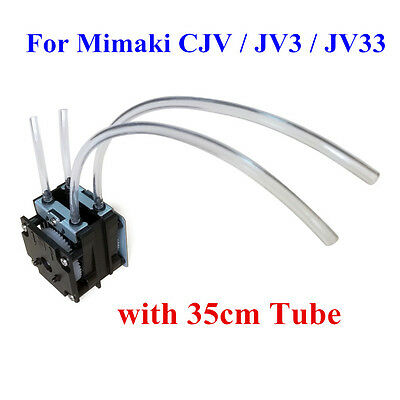 H-E parts Improved Mimaki JV3 / JV33 / JV5 Solvent Resistant Ink Pump, 35cm Tube