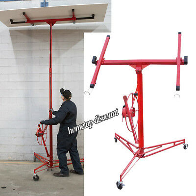 Drywall Panel/ Plaster Board Sheet Hoist Lift Lifting Lifter Construct Tool 11ft