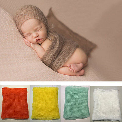 12 Colors Newborn Wrap Baby Photo Photography Props Maternity Backdrop 40*60CM