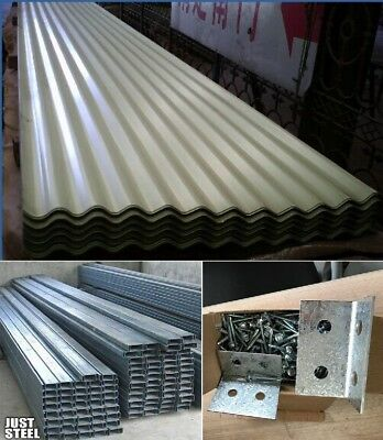 ROOFING FENCE PANEL Sheet Curragated/Trimdek $7mt NEW/ C
