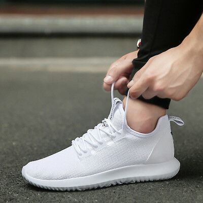 Fashion Men's Running Breathable Shoes Sports Casual Athletic Sneakers Shoes