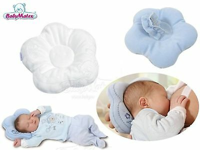 Matex Pile White Baby Baby Pillow Perfect to prevent Head Deformation and pre...