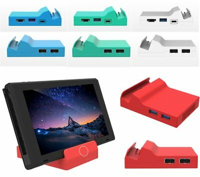 Portable Mini Replacement Dock Docking Station Case Cover For Nintendo Switch