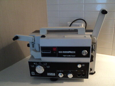 Eumig 820 Sonomatic HQS Super 8 sound projector 185 watts
