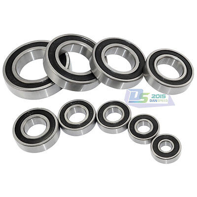 1 Pc 6800 Series Bearings 6800- 6806 RS Rubber Sealed Deep Groove Ball Bearing