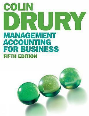 Management Accounting For Business by Colin Drury (Paperback, 2013)
