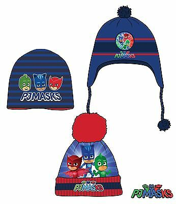 official pj masks knitted hat 3-10 years free 2nd class postage