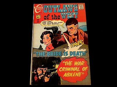 """Outlaws of the West - #76 - """"The War Criminal of Abilene!"""""""