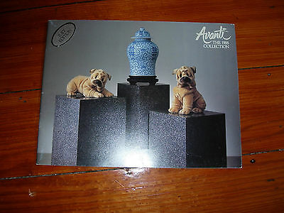 Avanti-The 1988 Collection-Rare Applause Catalog,text,great Photos & Information
