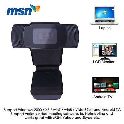 12MP HD Video Camera Webcam Web Cam with Microphone Mic for Laptop PC Android