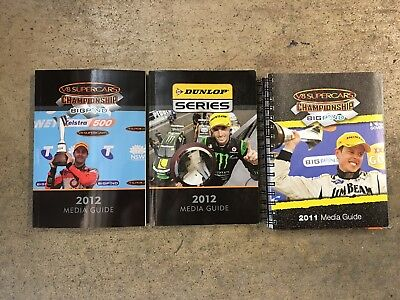V8 Supercar Media Guides