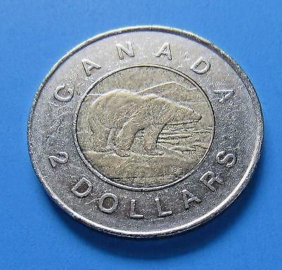 Canada $2 1996 - Toonie - FREE DOMESTIC SHIPPING