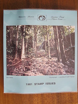 Christmas Island 1981 stamps Issues MNH-MUH