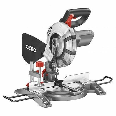 "Ozito™ 210mm (8¼"") 1600W Compound Mitre Saw Bevel Dust Collection - 3yr Warranty"
