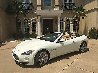 2013 Maserati Gran Turismo Base Convertible 2-Door 8000 miles only!  Wife driven.