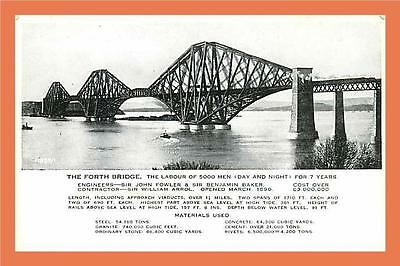 a393/099 EDINBURGH The Forth Bridge