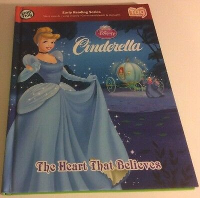 LEAP FROG CINDERELLA TAG Children's Hardcover English Book