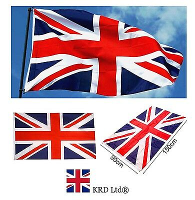 Large UNION JACK FLAG Great Britain Olympics Sport Jubilee Decor GB Flags 3x5 FT