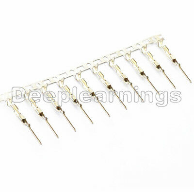 1000Pcs Dupont Jumper Cable Wire Male Pin Connector 2.54mm DIY Good