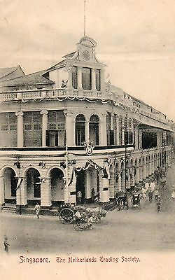The Netherlands Trading Society Building   Singapore  Straits Settlements